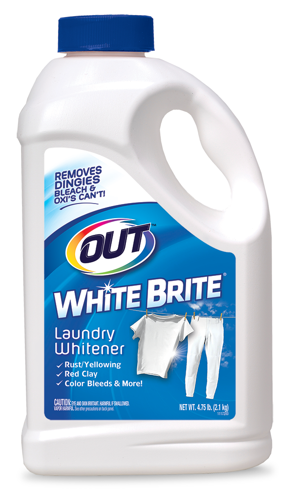 OUT White Brite Laundry Whitener Package Front; 4 lb 12 oz; SKU WB05B