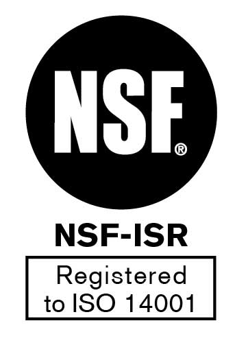 Summit Brands NSF ISO 14001 Registration Logo