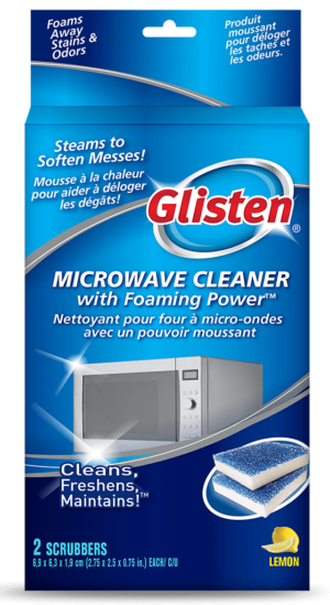Glisten Microwave Cleaner Microwave Cleaner 2-use SKU C-MW01B