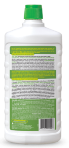 Lime OUT Heavy-Duty Rust Limescale & Calcium Stain Remover Back SKU C-AO24B