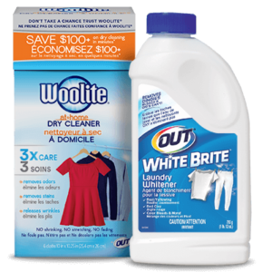 Woolite At-Home Dry Cleaner & White Brite Laundry Whitener