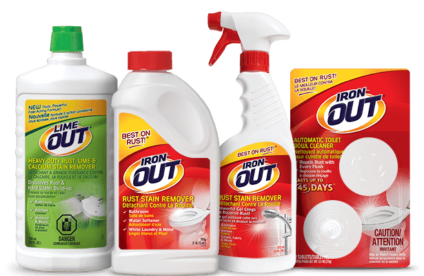 Summit Brands Iron OUT Rust Stain and Limescale Removers