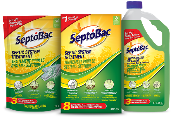 Septobac Septic Tank Treatment Products
