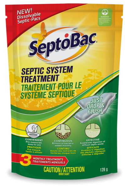 Septobac 174 Monthly Septic Tank Treatment Pacs Summit Brands